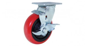 07 PU Swivel Side Brake