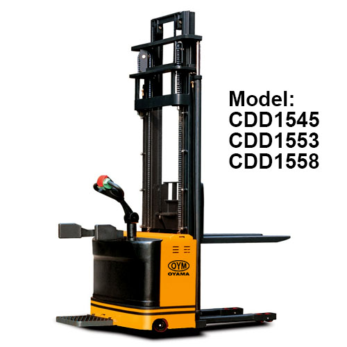 High Lift Electric Stacker CDD1545-1