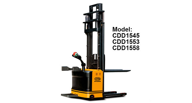 High Lift Electric Stacker CDD1545-2