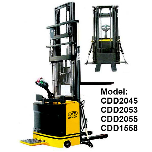 High Lift Electric Stacker CDD2045-1